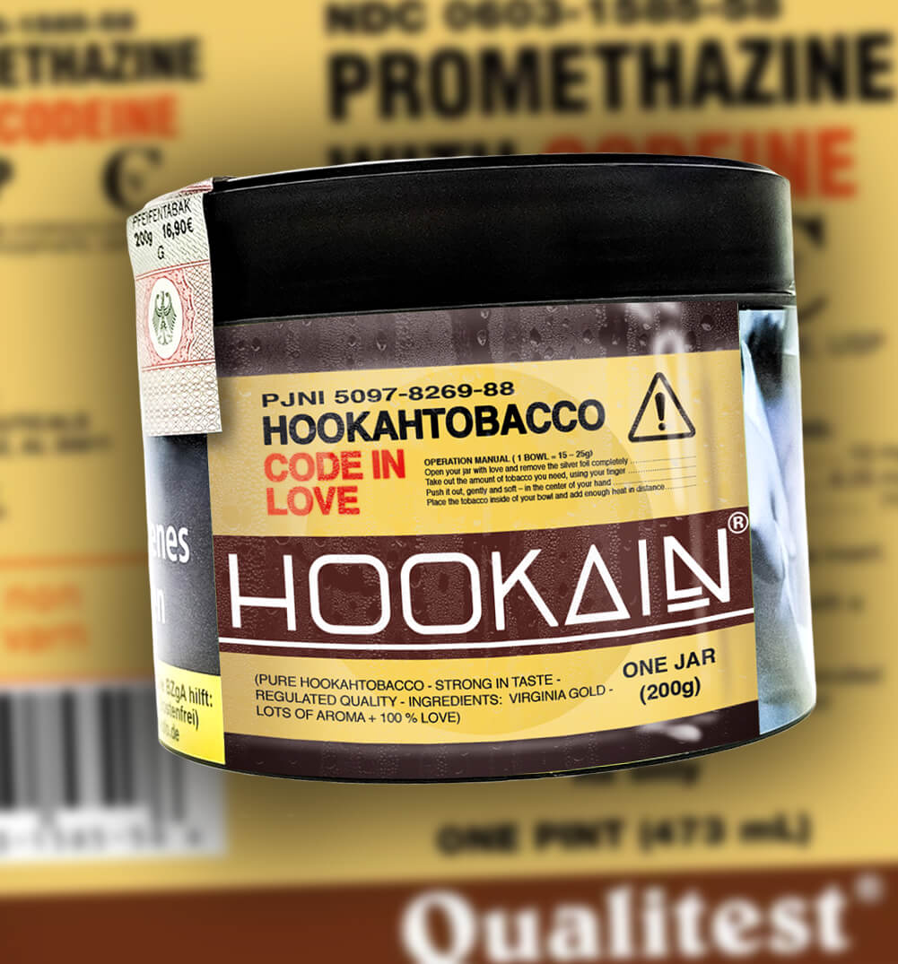 Code in Love, Hookain Tabak (200g)