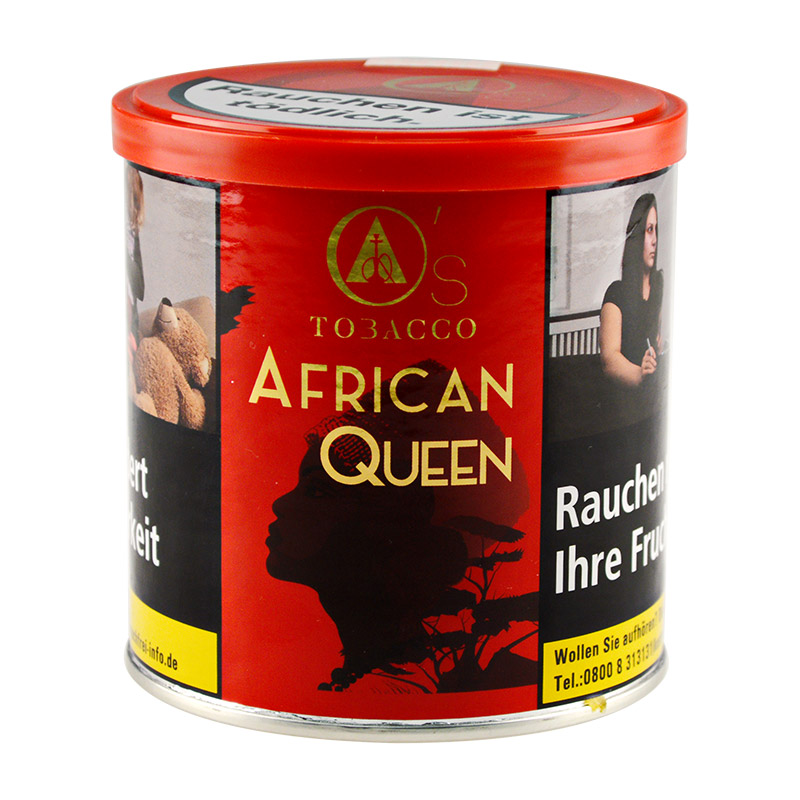 African Queen, O's Tobacco (200g)